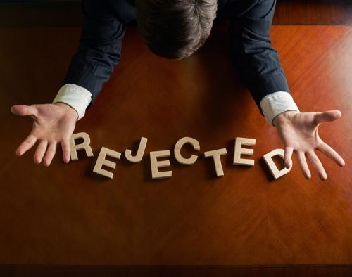 why an attorney should never give up after being rejected